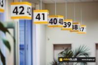 Oznakowanie wewnętrzne Miejskiego Ośrodka Pomocy Rodzinie w Białymstoku - ABA Plus