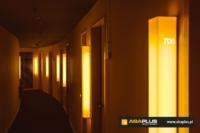 Lampka z numerem, oznakowanie pokojów w hotelu Vision Group - ABA Plus