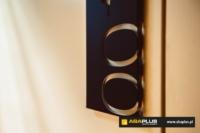 Tabliczka - numer pokoju, hotel Vision Group - Aba Plus