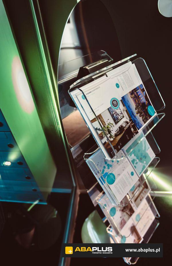 Stojak, display Vision Group ABA Plus